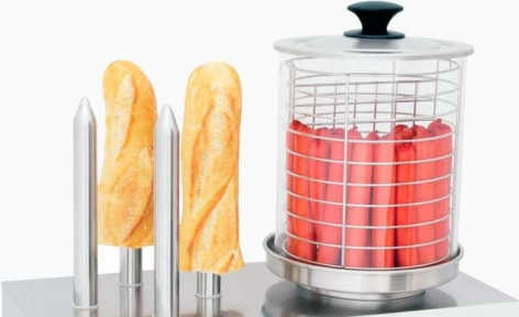 Аппарат для приготовления хот догов КИЙ-В Трейд HHD-3