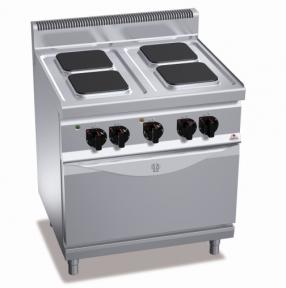 Плита электрическая Bertos E7PQ4+FE1