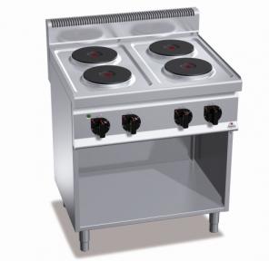 Плита электрическая* Bertos E7P4M+2P 400