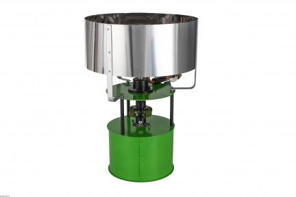 Аппарат для сахарной ваты газовый VataPlus зеленый